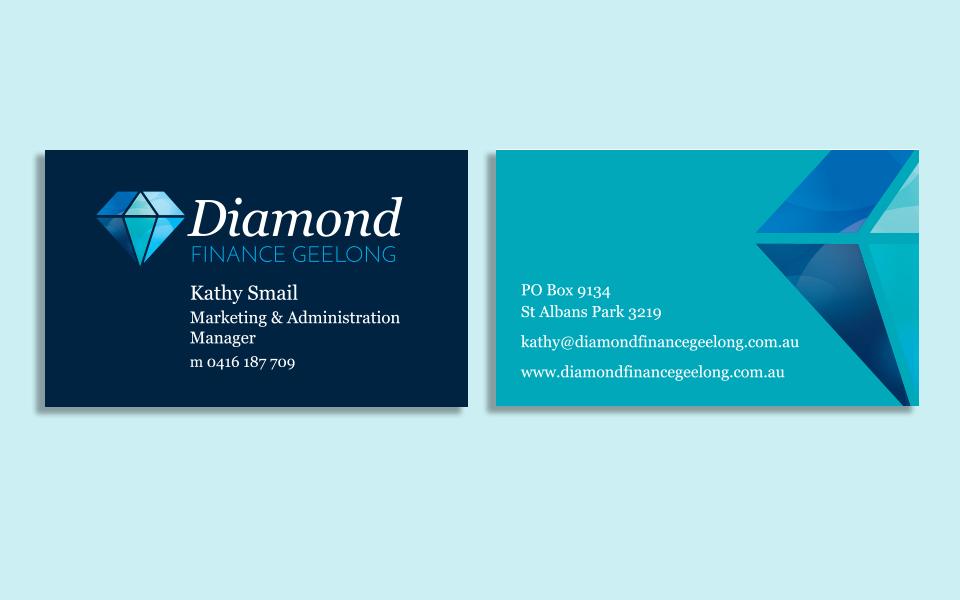 Diamond Finance Geelong Business Cards