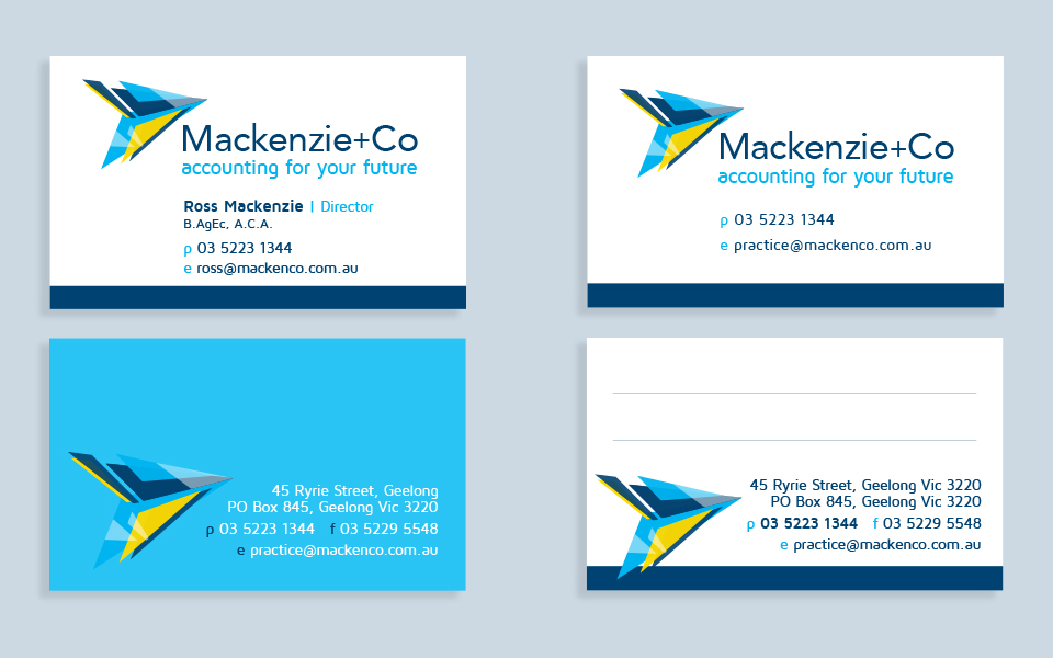 Business card printing geelong indie lime mackenzie co business cards reheart Images